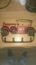 Vintage Car Metal Key Hanger