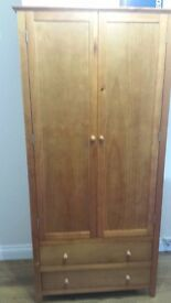 Three identical wardrobes. Used but in good condition.