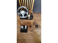 PS 2 Havoc Steering wheel - Model No: PSW-003