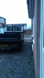 04 plate Ford transit tipper