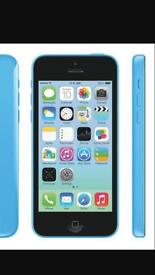 iPhone 5C blue with box