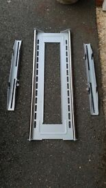 Wall brackets for a 43-50 inch TV