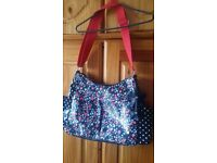 Baby floral changing bag BRAND NEW