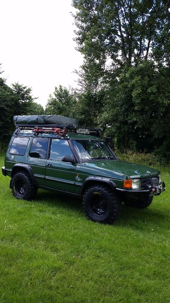 Landrover expedition with roof tent px welcome