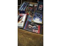 Big box of VHS tapes
