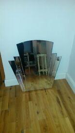 Art Deco Style Wall Mirror
