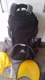 VAUDE JOLLY COMFORT BABY CARRIER USED Excellent condition