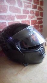 Caberg Trip DVS Dual Visor Full Face Flip Front Motorbike Motorcycle Helmet