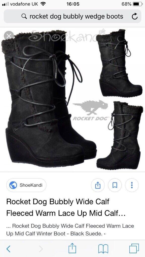 f99529fc0ba Rocket dog black boots