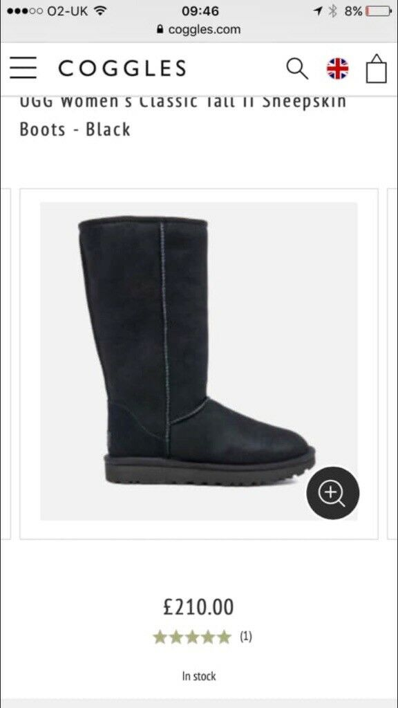 35adb74f0a8 Black tall brand new never been worn size 5 ugg boots | in Houghton Le  Spring, Tyne and Wear | Gumtree