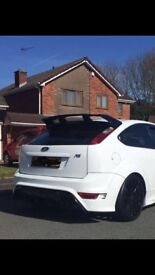 ford focus RS tailgate/boot and spoiler