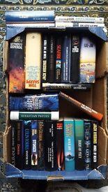 Box of Hardback Fiction