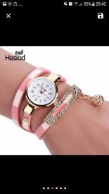 Womens watch bracelet