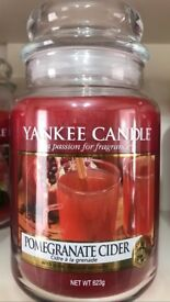 Yankee candles htf pomegranate cider