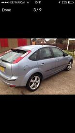 2007 FORD FOCUS 1.6cc MANUAL