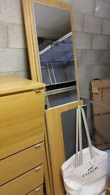 Ikea PAX Mirrored Wardrobe - Great condition.