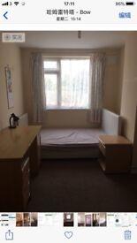 1 single room for rent,close Mile End station