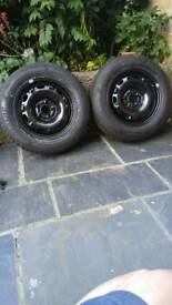New Tyre on new rim 165/70R14 x2