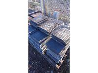 115 Redland Grey mini Stonewold roof tiles (New)
