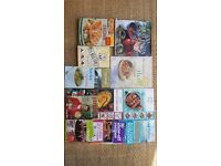 16no used cook books including Indian, Thai, Desserts, Pizza & Pasta