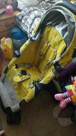Nuna pepp buggy in yellow