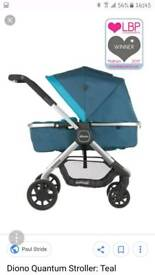 Diono Quantum Multi-mode Travel Stroller never been used