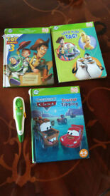 Used Leapfrog pen 2 books and introductory leaflet