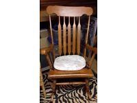 Wooden Rocking Chair
