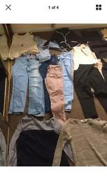 Job lot of women's clothes and shoes