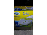 Scholl Compact Foot Spa Used Once Only To Test It Works