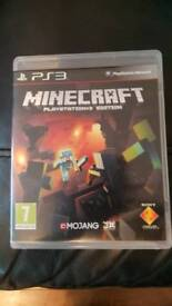 Minecraft and Minecraft Story Mode for PS3