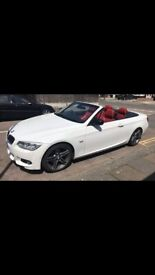 image for BMW, 3 SERIES, White Red leathers Convertible, 2012, Semi-Auto, 1995 (cc), 2 doors