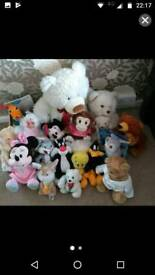 Bundle of teddies