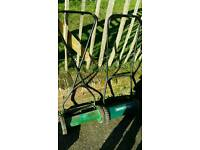 2 push mowers spares and reapirs