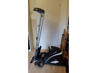 Hammer Cobra XT Folding Rowing Machine - as new, hardly used - bargain at £150