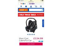 MAXI COSY car seat and isofix base 🎀🎀🎀