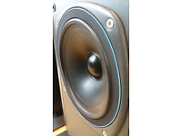 Vintage Tannoy DC 2000 pair speakers - in great condition throughout