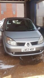 Renault MEGAN SCENIC with 10 months MOT!