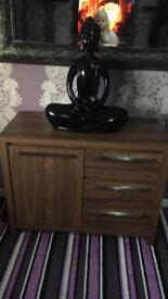 Walnut wood sideboard solid excellent condition
