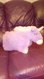 Unicorn pet pillow