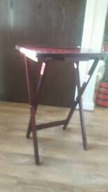 Wooden Fold Up Table