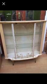 1950s 60s Display cabinet