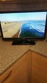 Free veiw Tv with built in dvd
