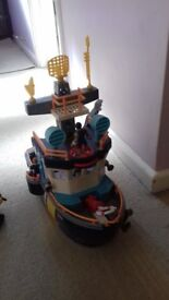FISHER PRICE IMAGINEX OCEAN BOAT TOY