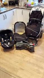 Britax Black Thunder Travel System