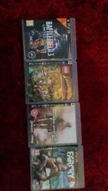 Battlefield 3, Lego Indian Jones, Modern Warfare 2 and Farcry3