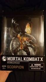 Mortal Kombat X - Scorpion Bobble head never opened