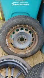 Steel wheel 4x98 pcd