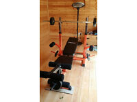 Gymano Mega Multigym Bench and Weights