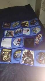 7 PS4 games (fine condition) + PS4 Controller (Open 4 Offers)